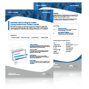 Cloud Recording Brochure