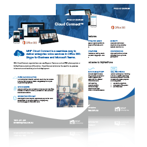 Cloud Connect Product Brochure