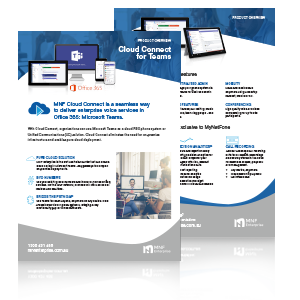 Cloud Connect for Microsoft Teams - Product Brochure