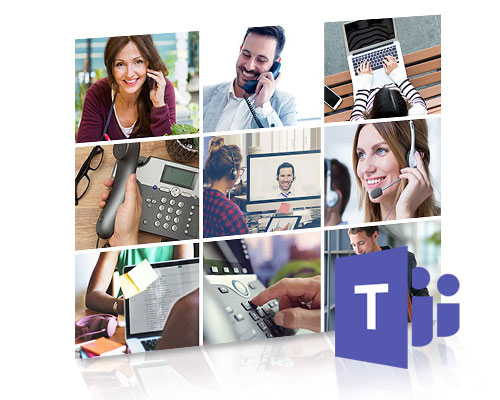 Calling and collaboration via Microsoft Teams