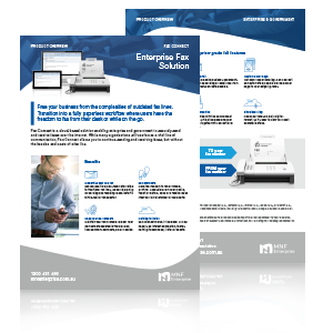 Fax Connect Brochure