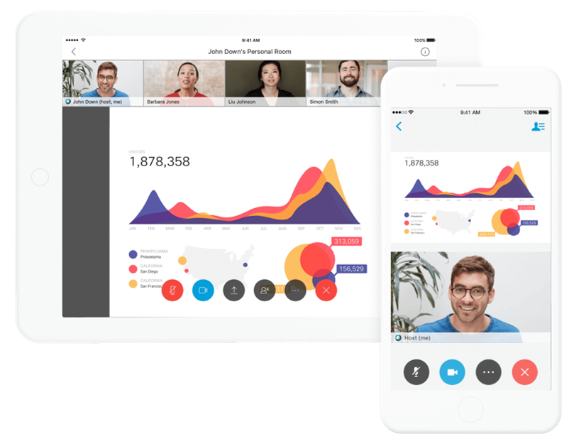 Collaboration has never been easier with Webex Meetings